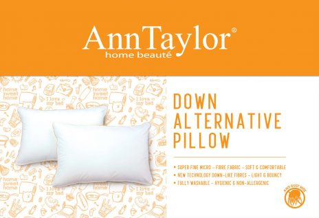 ANN TAYLOR - POLYESTER PILLOW (Down Alternative)