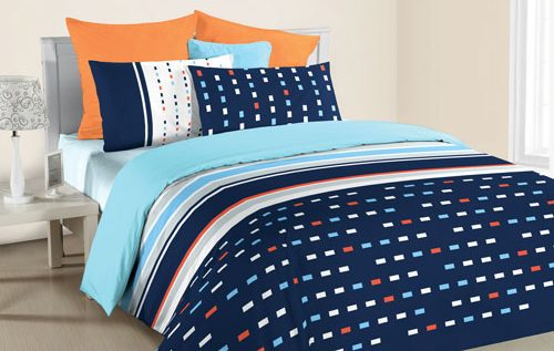 ANN TAYLOR GEOMETRIC HOME - Fitted Set (3 PC SET SINGLE)