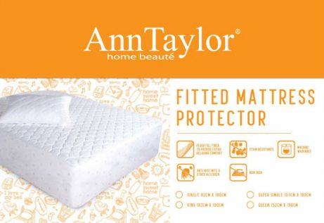 ANN TAYLOR - Fitted Mattress Protector (Single)
