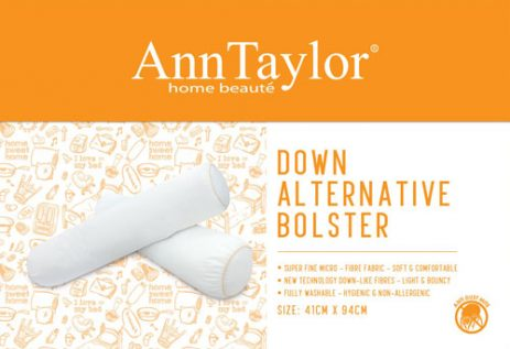 ANN TAYLOR - POLYESTER BOLSTER (Down Alternative)