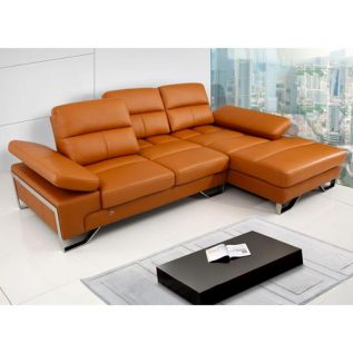 Future- 7041 (Half Thick Leather Sofa)
