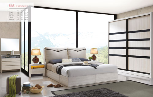 858 BEDROOM SET
